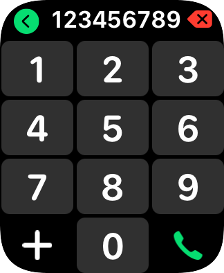 Key in the required number and press the call icon.