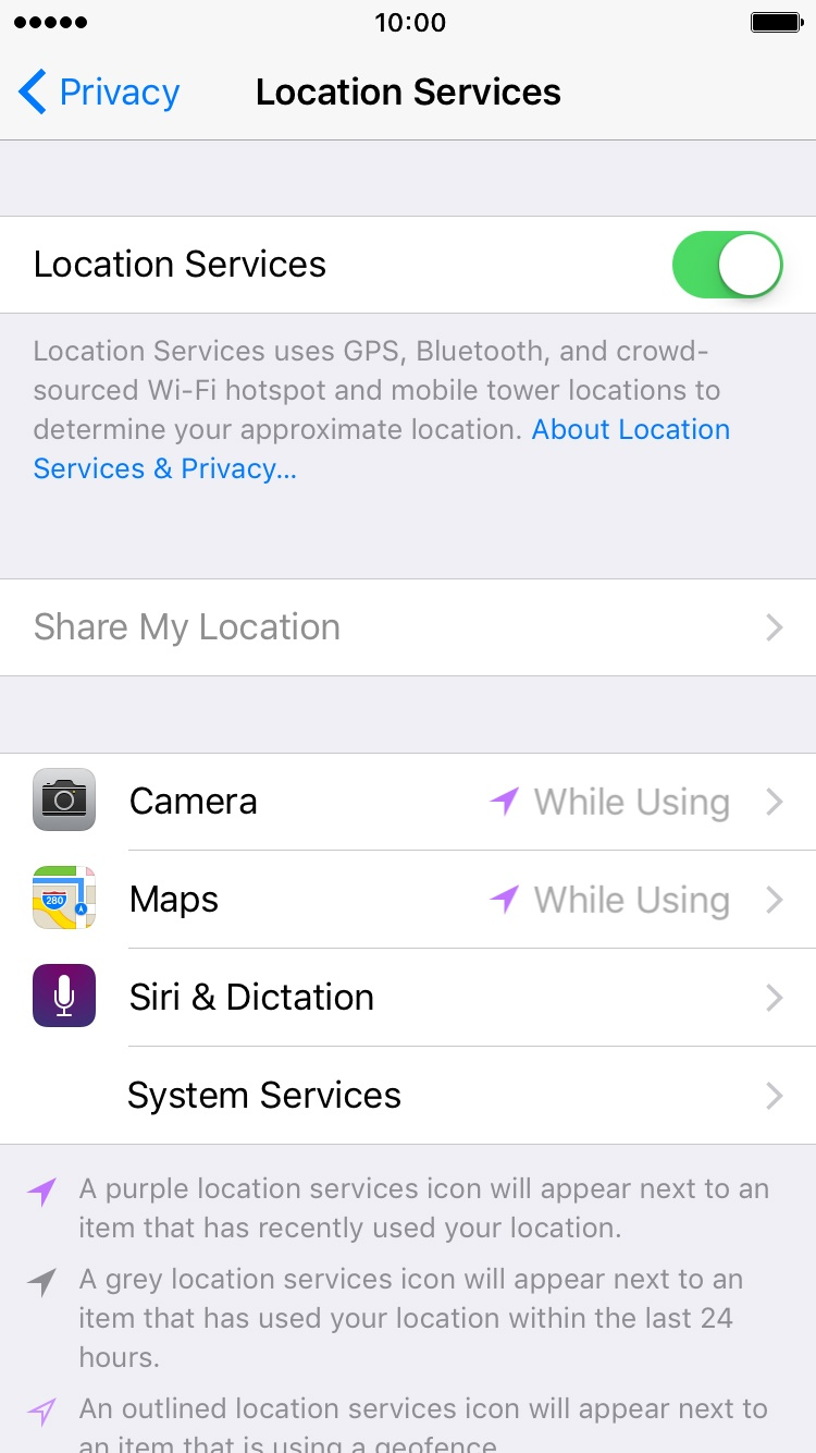 how to turn on gps on iphone turn gps on or apple iphone 6s ios 9 0 telstra 1889