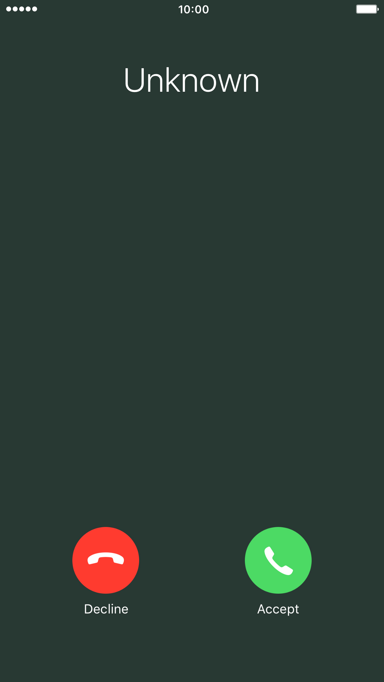 Answer a call - Apple iPhone 7 Plus (iOS 10.0) - Telstra
