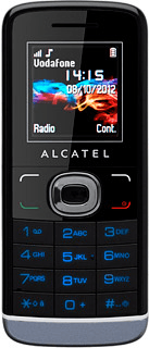 Alcatel One Touch 233 - How to write text - Safaricom