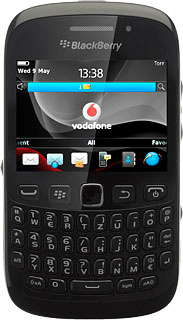 BlackBerry Curve 9220 - Update phone software - Safaricom