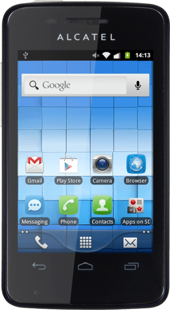 Alcatel One Touch 4010 T-POP - Turn your own caller