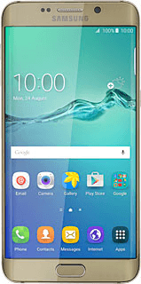Samsung Galaxy S6 edge + - Set up your phone for internet -