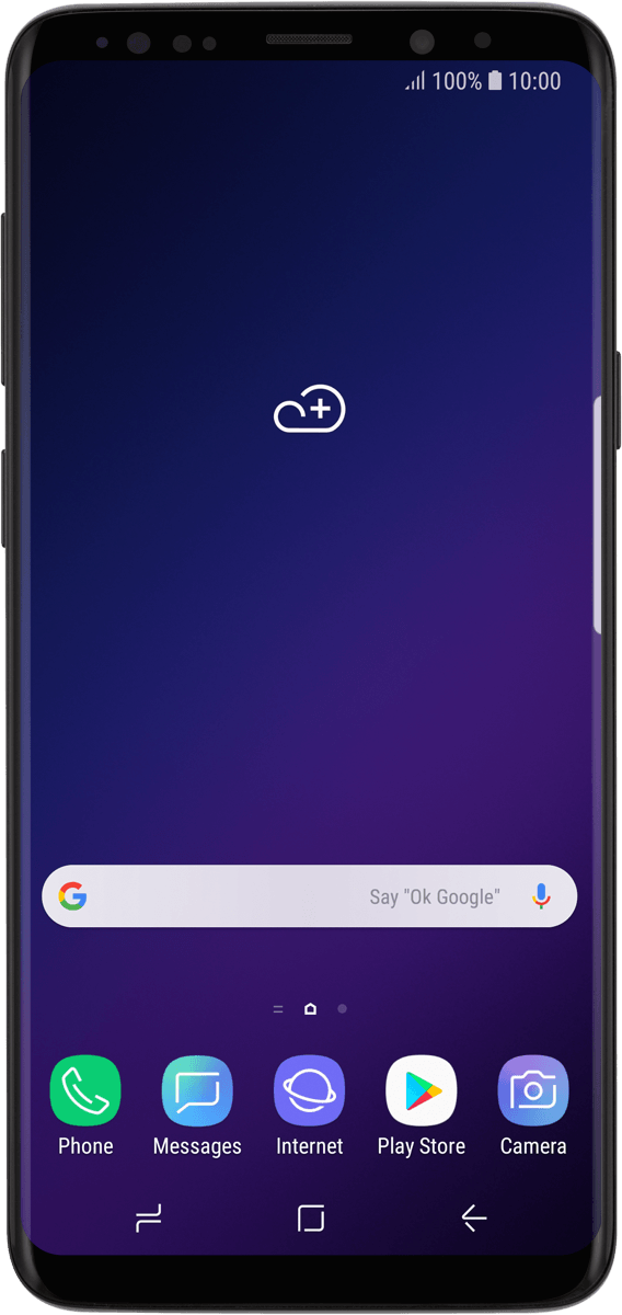 I can't use my phone as a Wi-Fi hotspot - Samsung Galaxy S9 (Android