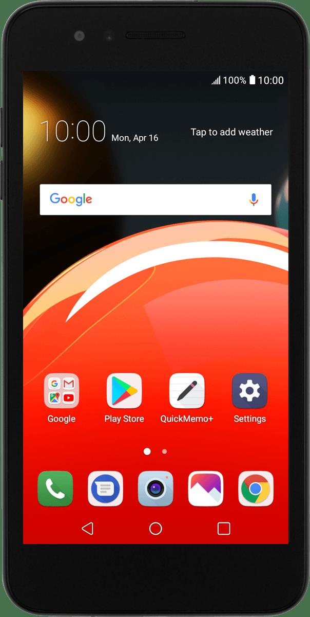 Restart your phone - LG K9 (Android 7 1) - Telstra