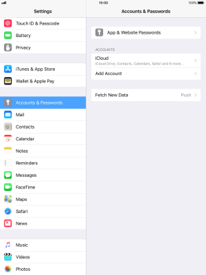 I can't send and receive email - Apple iPad mini 4 (iOS 11 0) - Telstra