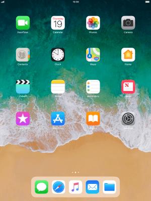 List of screen icons - Apple iPad Pro 10 5 (iOS 11 0) - Telstra