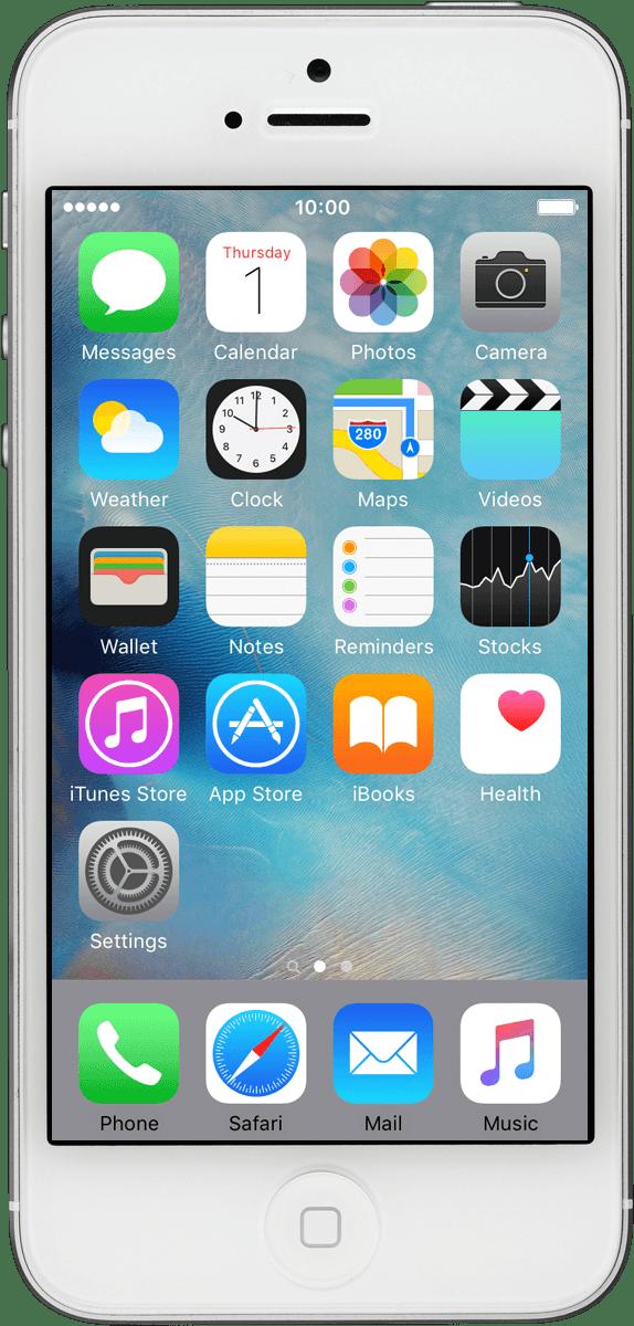 View network lock status - Apple iPhone 5 (iOS 9 0) - Telstra