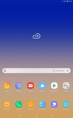 Install apps from Google Play - Samsung Galaxy Tab S4 (Android 8 1