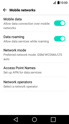 I can't use my phone's internet connection - LG K4 (2017