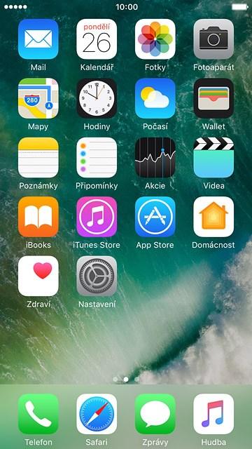 Nová aplikace pro připojení iphone
