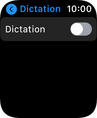 Press the indicator next to