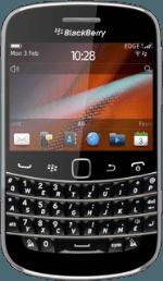 Using WhatsApp Messenger on my mobile phone - Bold 9900 - Singtel