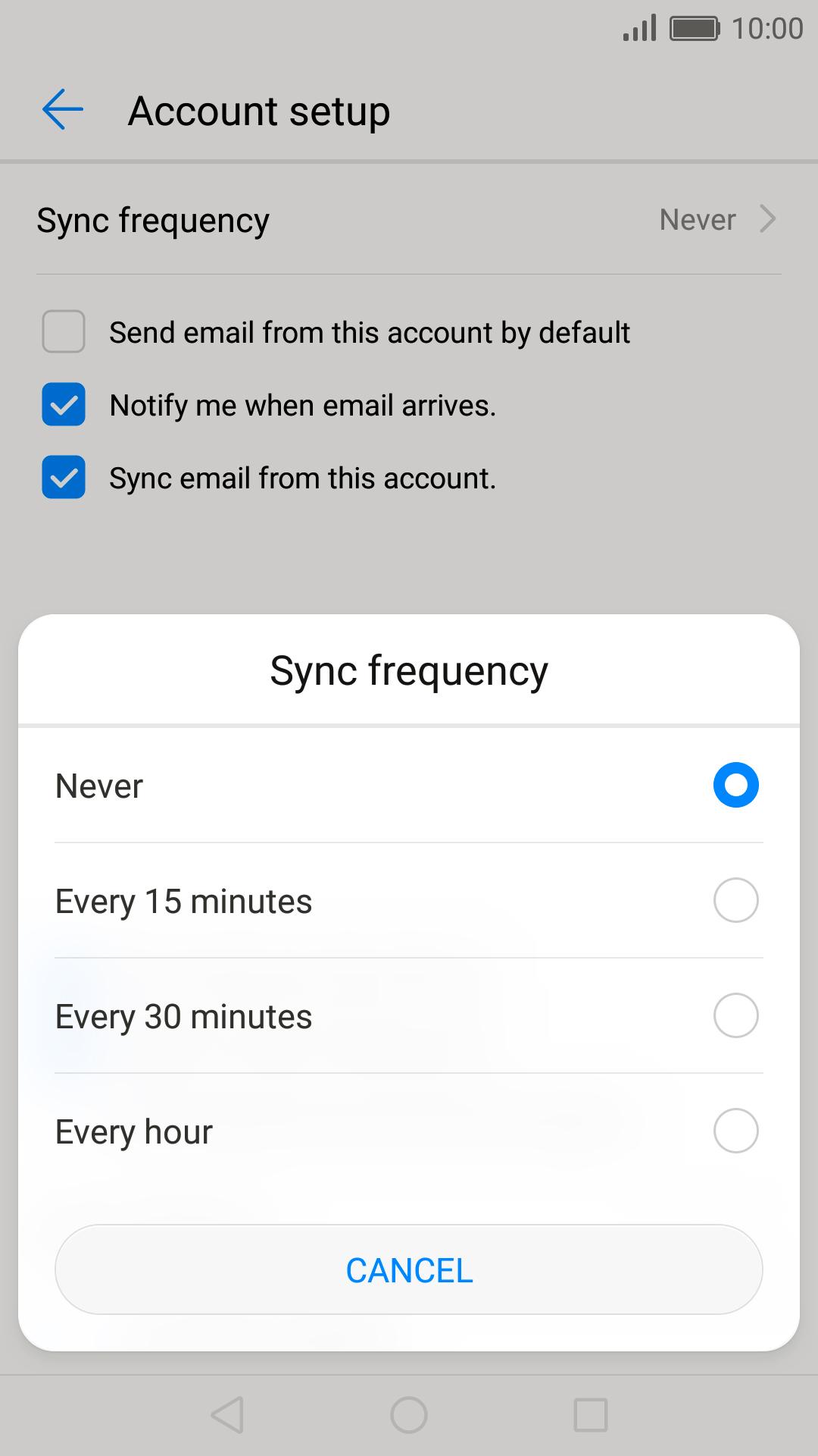 Rogers E-Mail-Einstellungen iphone