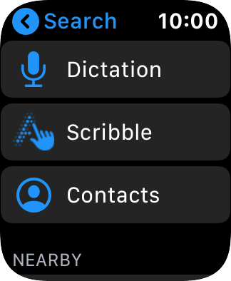 Press Dictation to turn on voice control.