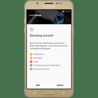 Activate your smartwatch - Samsung Gear Sport (TIZEN OS