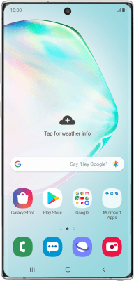 Samsung Galaxy Note10+ (Android 9.0)