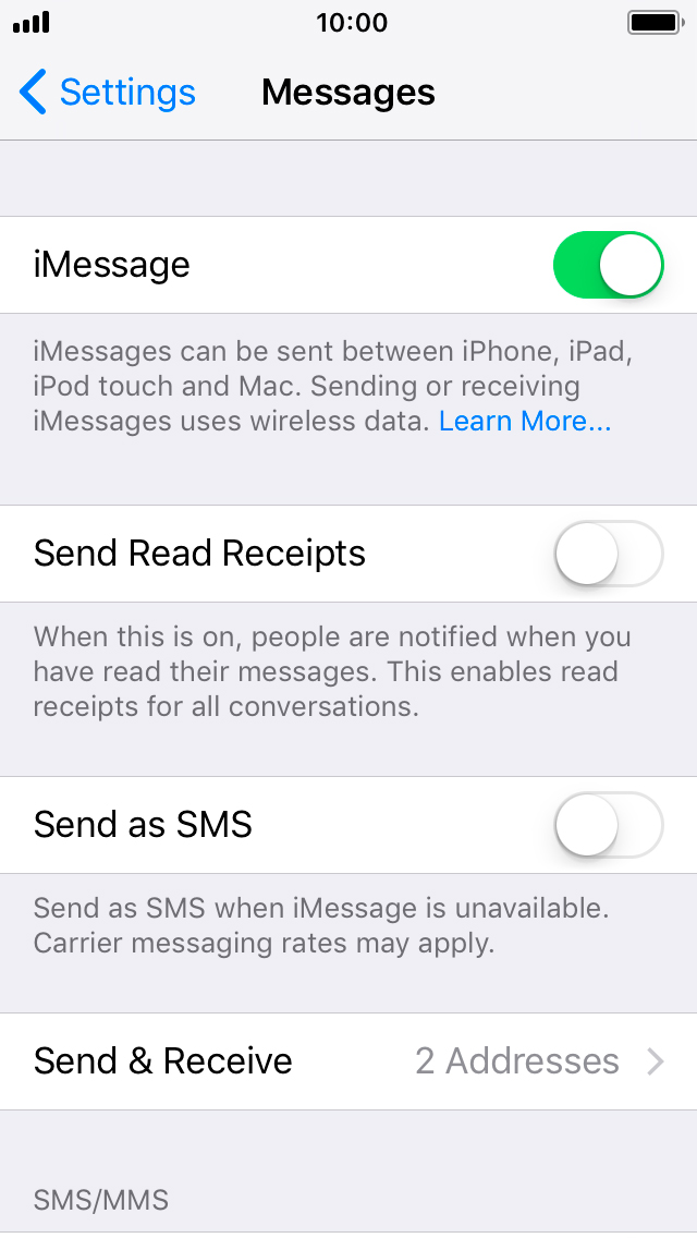 iphone wont send imessage i can t send and receive imessages apple iphone 5s ios 2706
