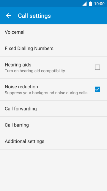 Vodafone smart ultra 7 turn call barring on or off step 6 of 9 ccuart Images