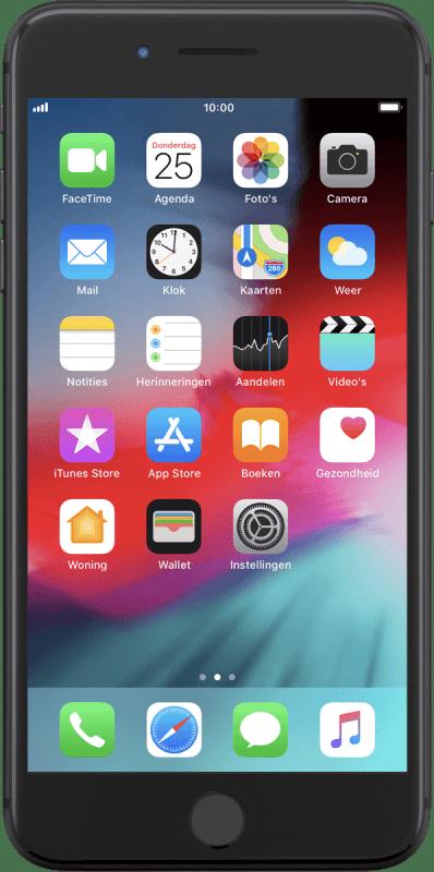 apple iphone 8 plus het nummer van voicemail instellen. Black Bedroom Furniture Sets. Home Design Ideas
