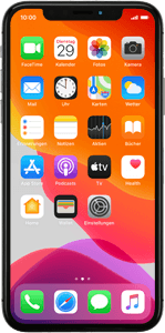 Apple iPhone X (iOS 13)