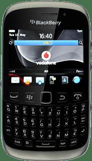 rubrica blackberry 8100