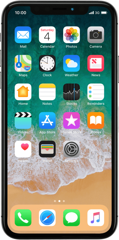 Save voicemail number - Apple iPhone X - Optus