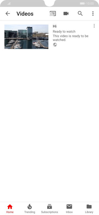 Use YouTube - Huawei P30 - Optus