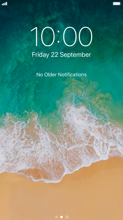 Turn screen lock on or off - Apple iPhone 8 Plus - Optus