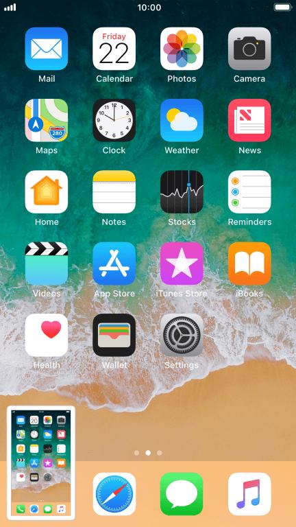 Take screenshot - Apple iPhone 8 Plus - Optus