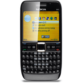 Making a video call with my mobile phone - Nokia E63 - Optus