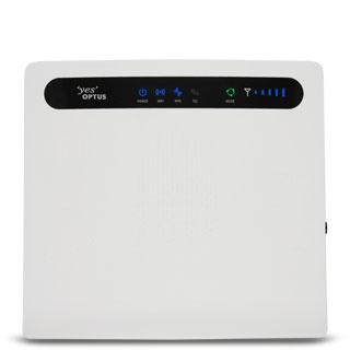 Optus B593 V2 4G Router/Windows 8