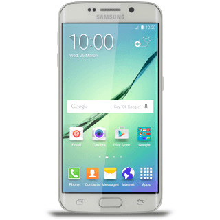 Answering a call on my mobile phone - Samsung Galaxy S6 edge