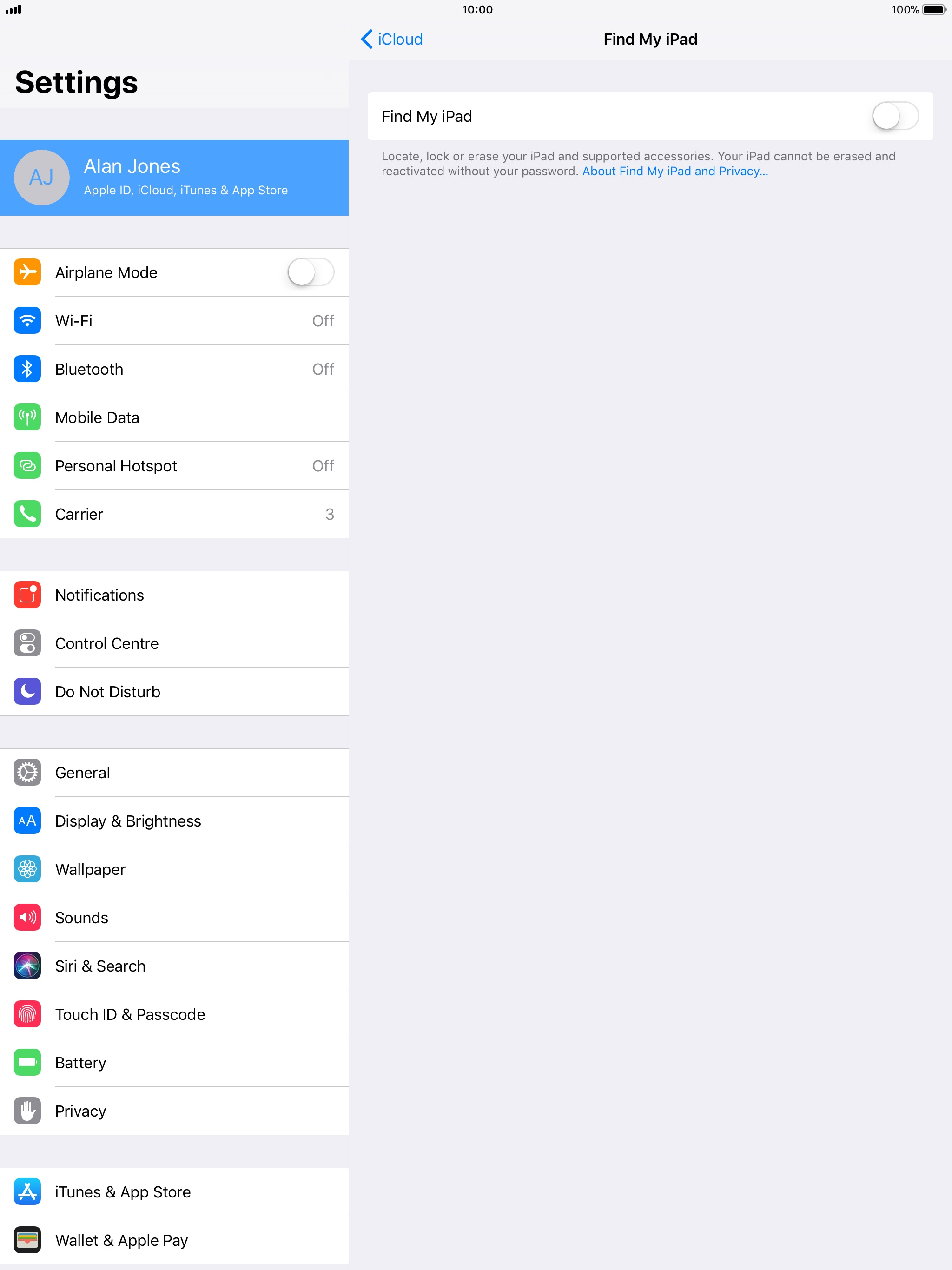 how to cancel optus from my ipad sim