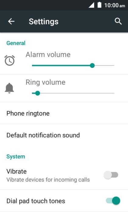 Choose ringtone - ZTE ZIP - Optus