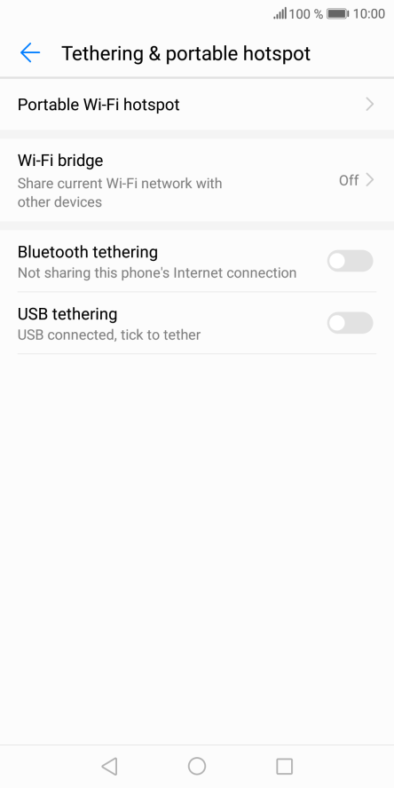 Use mobile phone as Wi-Fi Hotspot - Huawei Mate 10 Pro - Optus