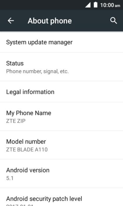 Update software - ZTE ZIP - Optus
