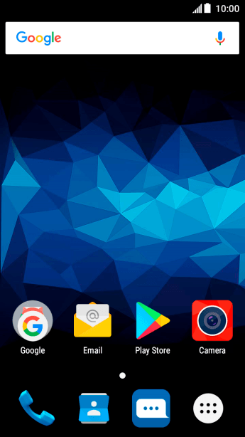 Turn automatic update of apps on or off - ZTE Blitz - Optus