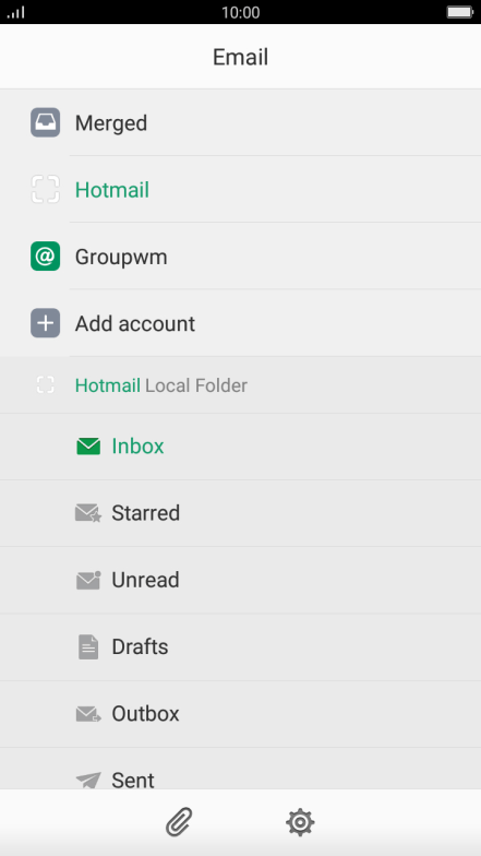 Set up your mobile phone for IMAP email - OPPO F1s - Optus