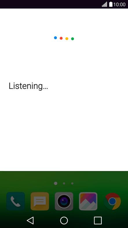 Use voice control - LG G5 - Optus