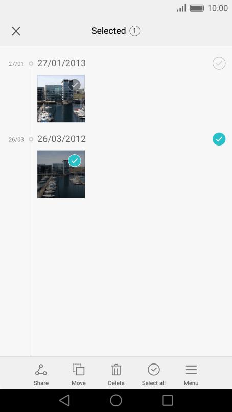 Transferring files using NFC - Huawei P9 - Optus