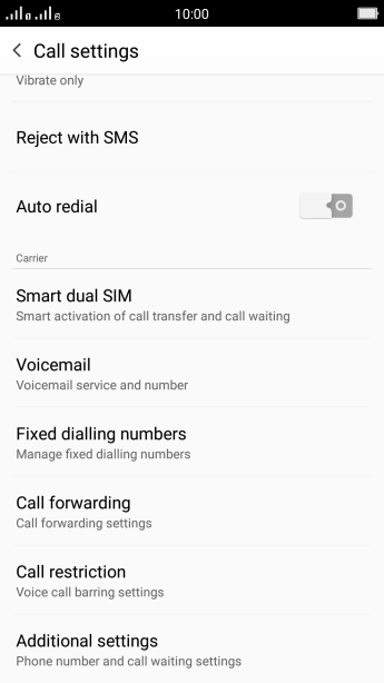 Diverting calls to another number - OPPO R7 - Optus