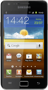 Samsung Galaxy S II - Copy contacts from your SIM to your