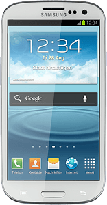 Samsung Galaxy S III - Copy contacts from your SIM to your mobile
