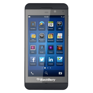 BlackBerry Z10 - Transfer files between your computer and mobile