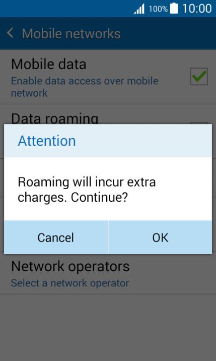 Optus international roaming data