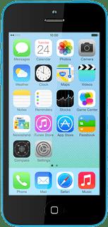 Apple iPhone 5c iOS 7