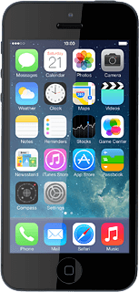 Apple iPhone 5 iOS 7