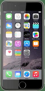 Apple iPhone 6 iOS 8