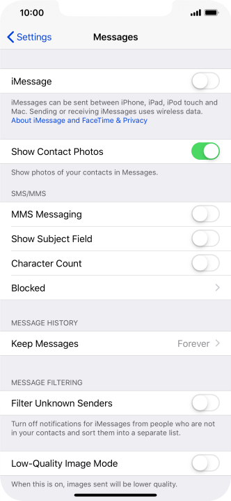 imessage waiting for activation iphone xs max